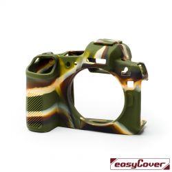 EasyCover custodia protettiva in silicone camera case per Canon EOS R camouflage