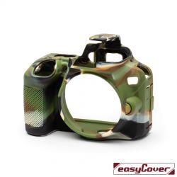 EasyCover custodia protettiva in silicone camera case per Nikon D3500 camouflage