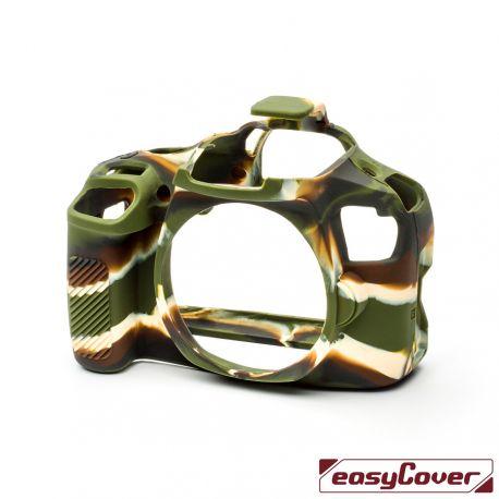 EasyCover custodia protettiva in silicone camera case per Canon 4000D camouflage