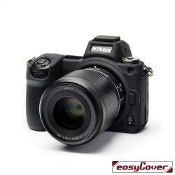 EasyCover custodia protettiva in silicone camera case per Nikon Z6 / Z7 nero