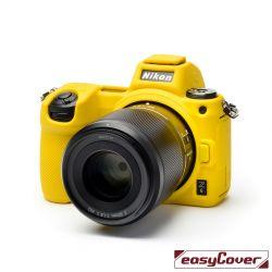 EasyCover custodia protettiva in silicone camera case per Nikon Z6 / Z7 giallo