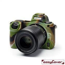 EasyCover custodia protettiva in silicone camera case per Nikon Z6 / Z7 camouflage