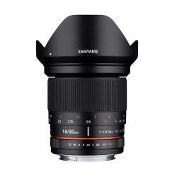Obiettivo Samyang 20mm F1.8 ED AS UMC per Canon