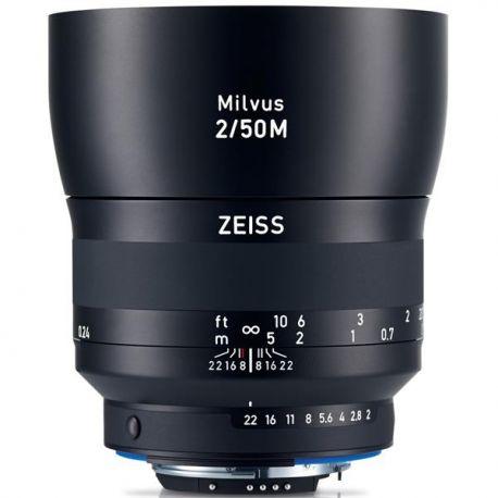 Obiettivo Carl Zeiss Milvus ZE 2/50mm per Canon