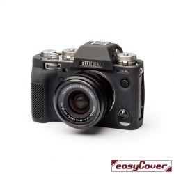 EasyCover custodia protettiva in silicone camera case per Fujifilm X-T3 Nero