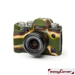 EasyCover custodia protettiva in silicone camera case per Fujifilm X-T3 camouflage