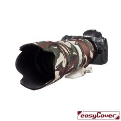 Easycover custodia in neoprene verde per obiettivo Canon EF 70-200mm f/2.8 IS II USM Lens Oak