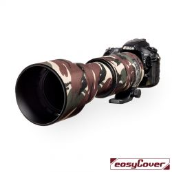 Easycover custodia in neoprene verde camo per obiettivo Sigma 150-600mm Contemporary Lens Oak