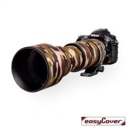 Easycover custodia in neoprene marrone camo per obiettivo Sigma 150-600mm Contemporary Lens Oak