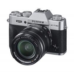 Fotocamera Fuji Fujifilm X-T30 Kit 18-55mm F2.8-4 R LM OIS argento