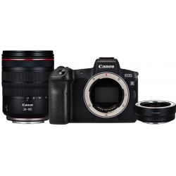 Fotocamera Canon EOS R kit RF 24-105mm F4L IS USM + adattatore EF-EOS R