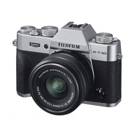 Fotocamera Fuji Fujifilm X-T30 Kit 15-45mm F3.5-5.6 OIS PZ argento