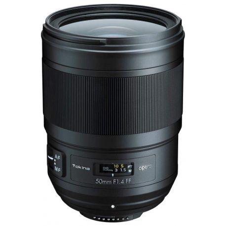 Obiettivo Tokina Opera 50mm F1.4 FF per Nikon