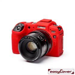 EasyCover custodia protettiva in silicone camera case per Canon EOS RP rosso