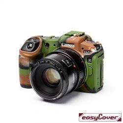 EasyCover custodia protettiva in silicone camera case per Canon EOS RP camouflage