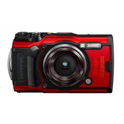 Fotocamera Compatta Subacquea Olympus Tough TG-6 Rosso