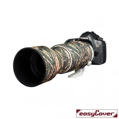 Easycover custodia in neoprene forest camo per obiettivo Canon 100-400mm F4.5-5.6L IS II USM V2 Lens Oak