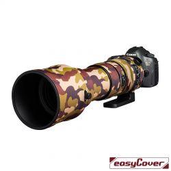 Easycover custodia in neoprene marrone camo per obiettivo Sigma 150-600mm F5-6.3 DG OS HSM Sport Lens Oak