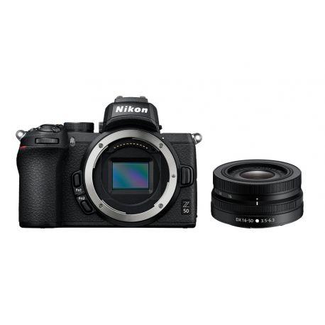 Fotocamera mirrorless Nikon Z50 Kit 16-50mm VR [MENU ENG]