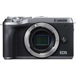 Fotocamera Mirroless Canon EOS M6 Mark II body silver