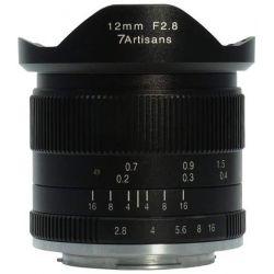 Obiettivo grandangolare 7Artisans 12mm F2.8 APS-C per fotocamere mirrorless Canon M