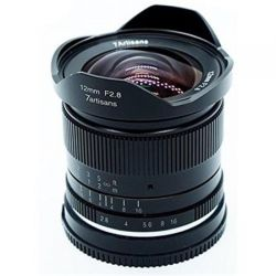 Obiettivo grandangolare 7Artisans 12mm F2.8 APS-C per fotocamere mirrorless Fuji X