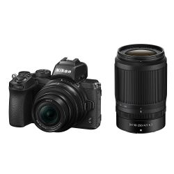 Fotocamera mirrorless Nikon Z50 Kit 16-50mm VR + 55-250mm VR