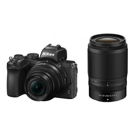Fotocamera mirrorless Nikon Z50 Kit 16-50mm VR + 50-250mm VR [MENU ENG]