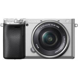 Fotocamera Sony Alpha a6400 Kit 16-50mm Argento [MENU ENG]