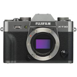 Fotocamera Mirrorless Fujifilm X-T30 solo corpo macchina Argento scuro