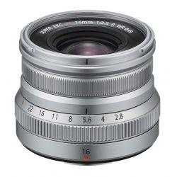 Obiettivo FUJINON XF 16mm F2.8 R WR Silver per Fujifilm