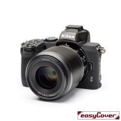 easyCover custodia protettiva in silicone per Nikon Z50 nero