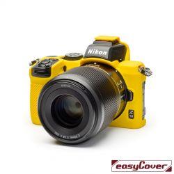 easyCover custodia protettiva in silicone per Nikon Z50 giallo