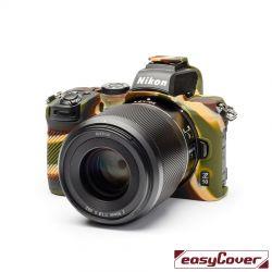 easyCover custodia protettiva in silicone per Nikon Z50 camouflage