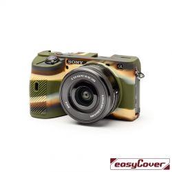 easyCover custodia protettiva in silicone per Sony A6600 camouflage