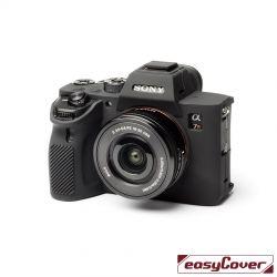 easyCover custodia protettiva in silicone per Sony A9 II / A7R 4 nero