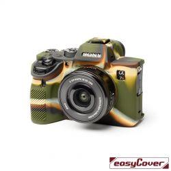 easyCover custodia protettiva in silicone per Sony A9 II / A7R 4 camouflage