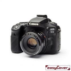 easyCover custodia protettiva in silicone per Canon 90D nero