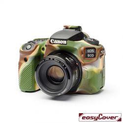 easyCover custodia protettiva in silicone per Canon 90D camouflage