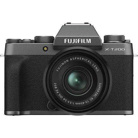 Fotocamera Mirrorless Fujifilm X-T200 Kit 15-45mm Dark Silver