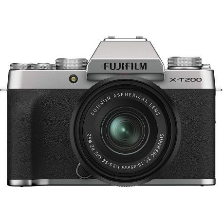 Fotocamera Mirrorless Fujifilm X-T200 Kit 15-45mm Silver