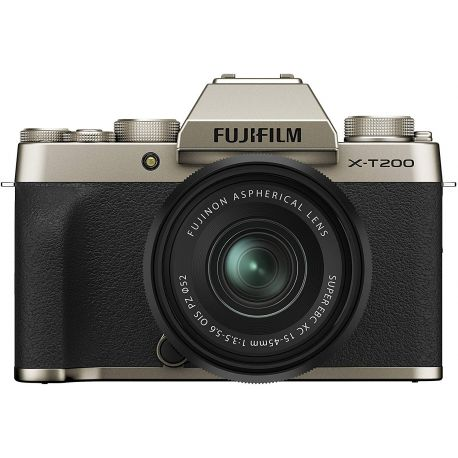 Fotocamera Mirrorless Fujifilm X-T200 Kit 15-45mm Champagne Gold