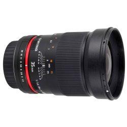 Obiettivo Samyang 35mm f/1.4 AS UMC per Canon