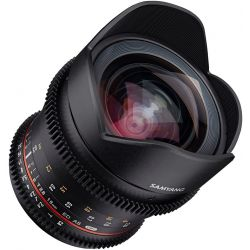Obiettivo Samyang 16mm T/2.6 ED AS UMC VDSLR per Sony E-Mount