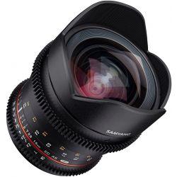 Obiettivo Samyang 16mm T/2.6 ED AS UMC VDSLR per Canon EF