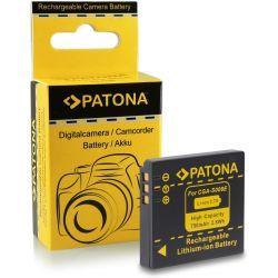 Patona Batteria CGA-S008E 750 mAh per Panasonic FX30 FX35 FX55 FX500 FS3 FS5 FS20