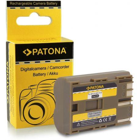 Phottix Titan Batteria Ricaricabile BP-511A per Canon 5D 10D 20D 30D 40D 50D Bp-511