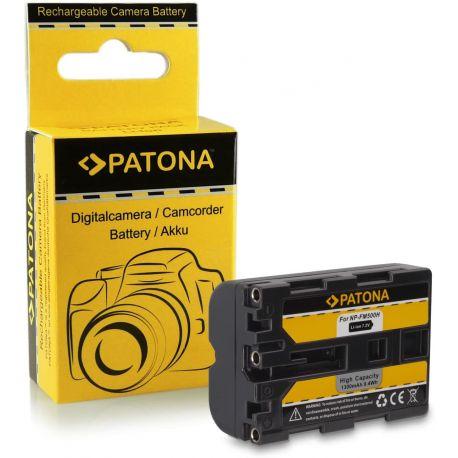 Patona Batteria Sony NP-FM500H A700 A850 A900 A57 A58 A65 A77 II A99 77M2