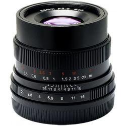 Obiettivo 7Artisans 35mm F2.0 Manual Focus per fotocamere Fujifilm X Nero