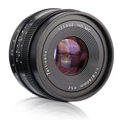 Obiettivo 7Artisans 50mm F1.8 APS-C per fotocamere Canon EOS M Nero